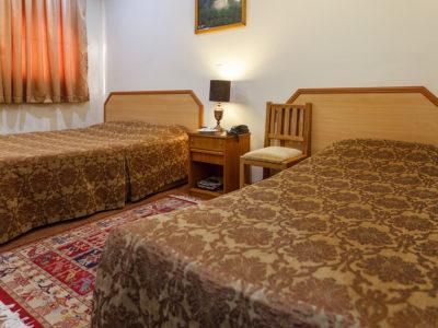 اتاق دو تخته توئین هتل ساسان شیراز