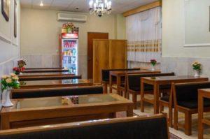 کافی شاپ هتل ساسان شیراز